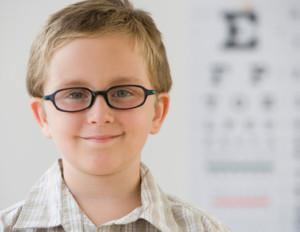 При натягивании глаза улучшается зрение