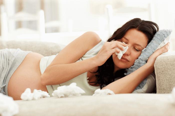 Аллергический ринит при беременности, причины, симптомы, лечение